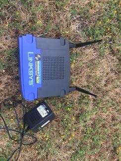 Linksys wrt54g wireless-G-2.4GHZ 54MBPS 4 port router