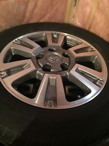 Set of 2014 Toyota Tundra rims $1000obo