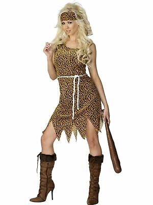 Cavewoman Outfits (Cavewoman  Jungle Jane Ladies Fancy Dress Hen Party Costume Outfit)