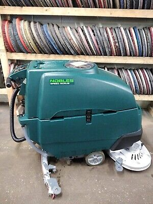 Nobles Ss5 32 Walk Behind Floor Scrubber Under 1000 Hours
