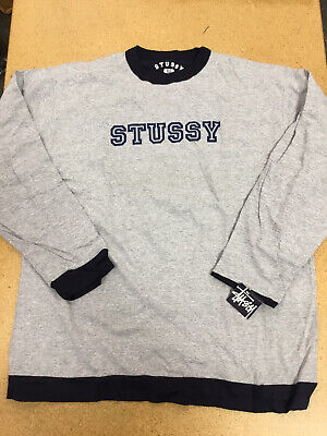 Stussy Vintage L/S Knit, XLarge