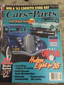 Cars and parts magazine
