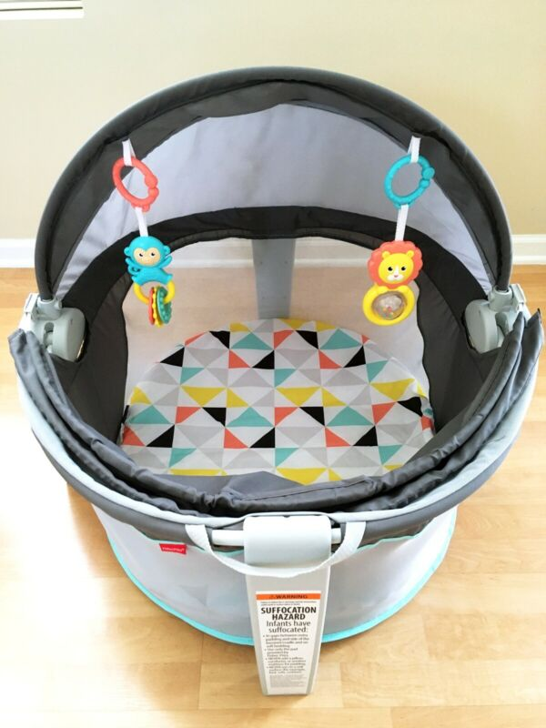 Used Fisher-Price On-the-Go Baby Dome in great condition Local pickup only