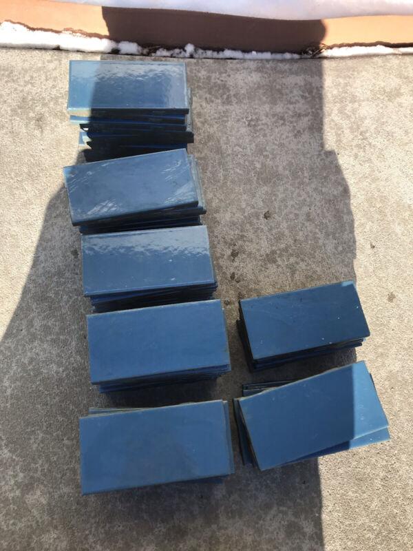 gladding mcbean Terra Grande Interpace Franciscan Vintage Blue Tile California
