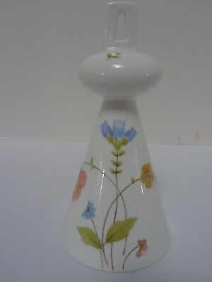- Vintage MIKASA Bone China Bell in the JUST FLOWERS Pattern A4-182 Japan