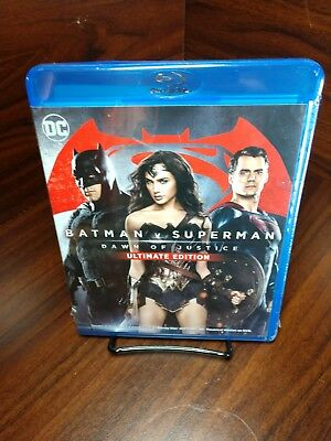 Batman v Superman:Dawn of Justice (Blu-ray)Brand NEW-Free Shipping with Tracking - Dawn Of Justice Batman
