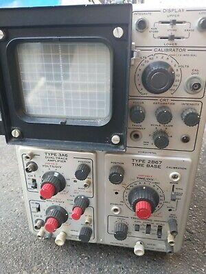 Tektronix Inc. Type 564 Storage Oscilloscope Made In Usa - Rare Collectible