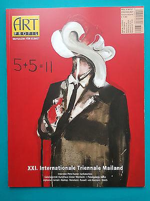 Art Profil Magazin für Kunst Heft-Nr. 116-2016 22.Jahrgang ungelesen 1a abs. TOP