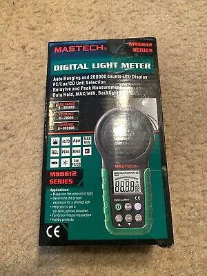 Mastech Ms6612 Digital Lux Fc Meter Multi-functional Light Meter 0-2000 00lux