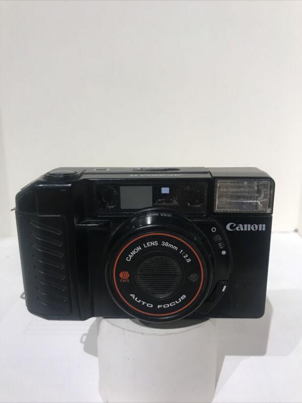 Vintage Canon Sure Shot AF35m II Film Camera 38mm 1:2.8 Made in Japan