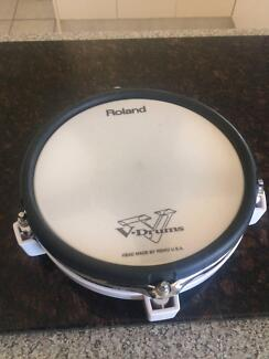 Roland pd-80r snare tom dual electric drum pad trigger pad