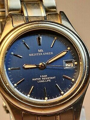 Meister Anker Swiss Parts Quartz Movement Ladies Watch for sale  Shipping to Nigeria
