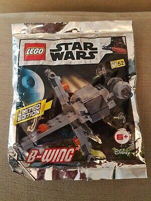 LEGO STAR WARS B-WING LIMITED EDITION FOIL PACK 911950 L@@K