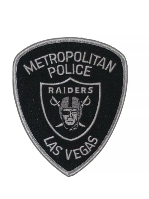 Las Vegas Raiders Metropolitan Police Department 2020 Edition Patch