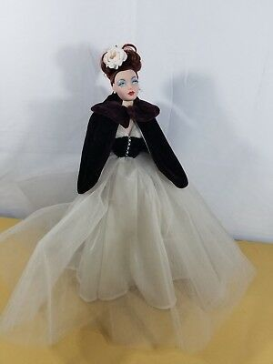 "Mel Odom Doll 1995 Fashion 16.5"" tall evening Dress Ashton Drake"
