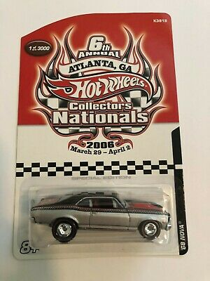 Hot Wheels '68 Nova – Convention Series – Limited Edition! (only 3000 made)