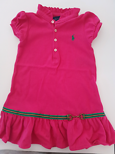 Ralph Lauren Polo dress and 2 Polo t-shirts. Alkimos Wanneroo Area Preview