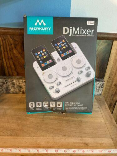 Merkury Innovations DJ Mixer MI-IS2510 (White)  For iPod / iPhone New In Box