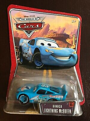 NEW Disney Pixar Cars World of Cars WOC Dinoco Lightning McQueen diecast