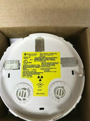 NOTIFIER FSI-851  Ionization Smoke Detector NEW IN BOX