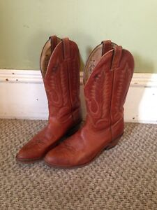 Boulet Men's Size 9 E Real Leather Western Boots