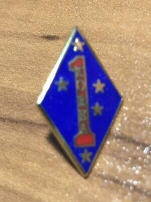 1st MARINE DIVISION (Korea) Hat or Lapel Pin  ()