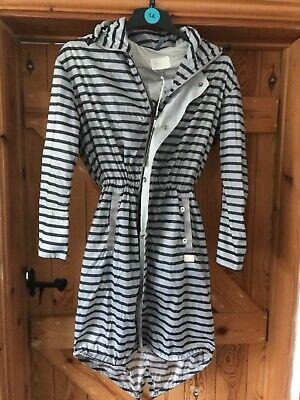 G Star striped raincoat size xs bnwt