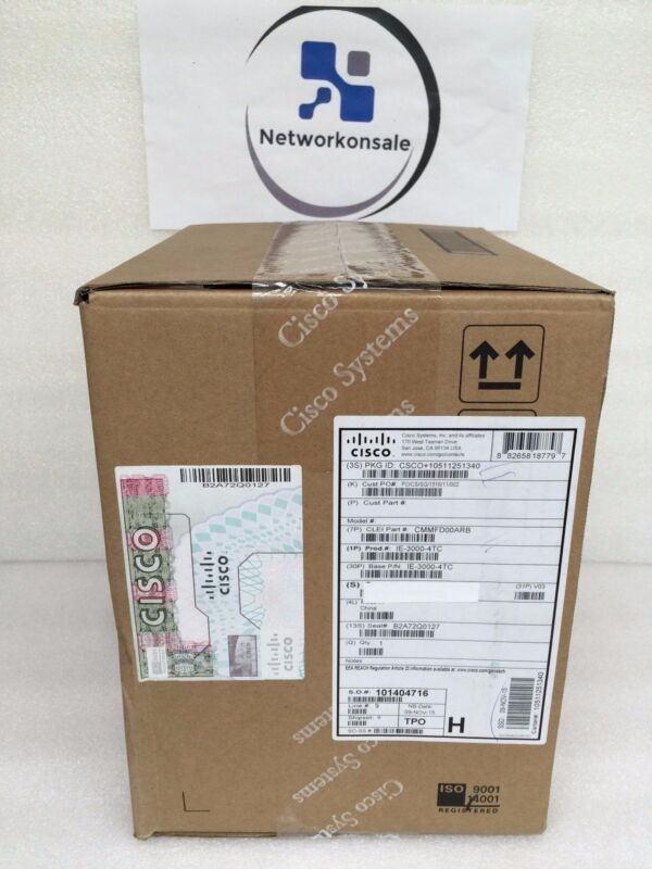 Ie-3000-4tc *new* Cisco Ie 3000 Industrial Switch *in Stock! Ships Fast!