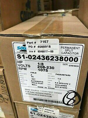 OEM York Coleman Luxaire Condenser FAN MOTOR 1//8 HP 024-25100-700