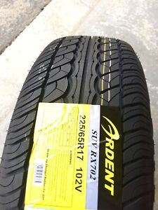 225/65R17 All Season Tires Brand New Set of 4