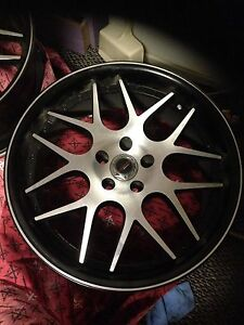 "Ford 20"" PWD wheels + tyres Riddells Creek Macedon Ranges Preview"