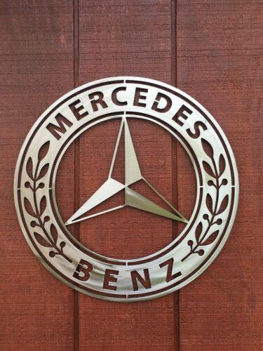 Mercedes Benz Metal Sign