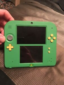 Nintendo 2DS Ocarina of time 3D Edition
