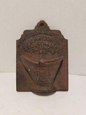 - Vintage Lehigh Valley Coal Co.  Match Holder - John Reddington Telephone 390
