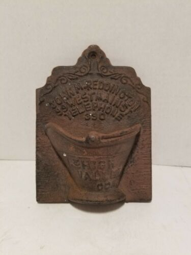 Vintage Lehigh Valley Coal Co.  Match Holder - John Reddington Telephone 390