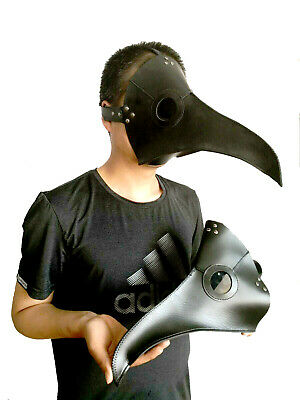Long nose Plague doctor mask Long bird mouth mask Crow Halloween mask cosplay.](Plague Doctor Mask Halloween)
