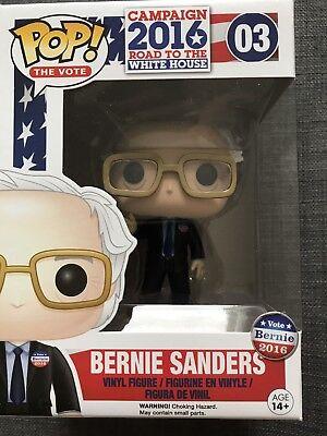 Funko Pop Vinyl New Bernie Sanders 3 75   Vaulted
