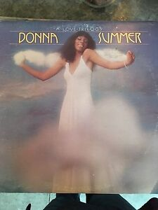 Donna Summer a love trilogy LP used