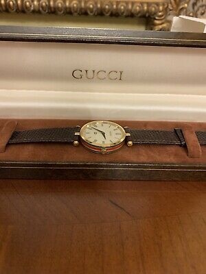 Vintage GUCCI MENS WATCH , BRAND NEW GUCCI BAND Added, In GREAT Condition