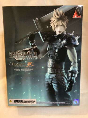 FINAL FANTASY VII Remake Cloud Strife Play Arts Kai Figure New