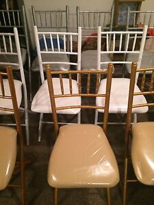 Beautiful Folding Chiavari Chairs for Rent  Cambridge Kitchener Area image 2