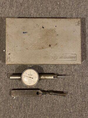 Mitutoyo Dial Test Indicator No. 513-118 .001 -.040