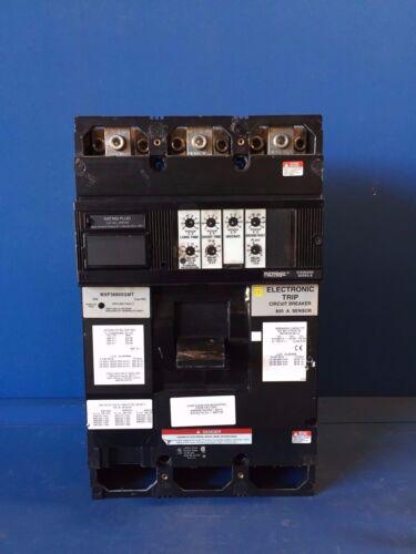 SQUARE D MXP36800GMT 800A 600V 3P CIRCUIT BREAKER W/ELECTRONIC TRIP SENSOR