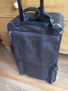 Leather Canyon Suitcase