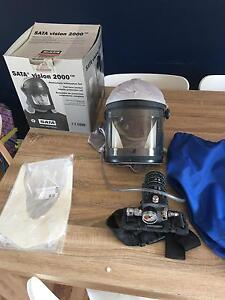 Air fed spray mask excellent condition Sata Airfed spray mask Taree Greater Taree Area Preview