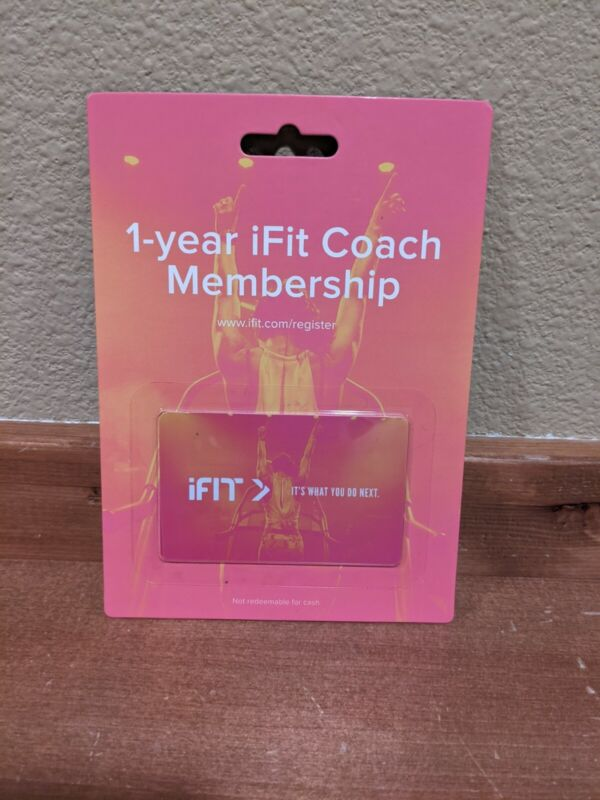 iFIT Coach 1 Year Membership ( 12 MONTHS ) - New