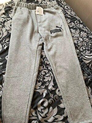BNWT Puma Joggers Men's. Size Small, Grey.