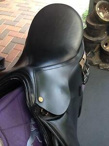 RIVIERA BLACK LEATHER ALL PURPOSE SADDLE Mount Barker Plantagenet Area Preview