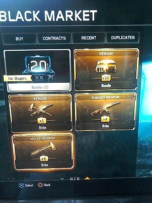 BO3 Prestige Master With Over 70 Supply Drops PS4 - Call Of Duty BlackOps 3
