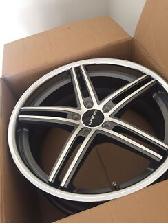 20inch staggered Lorenzo rims suit Ford au ba bf Fg ute